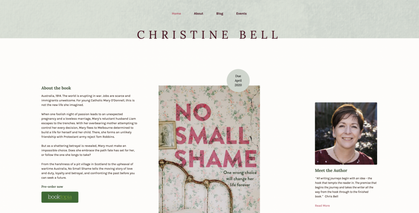 New Year, New Book, Brand New Website