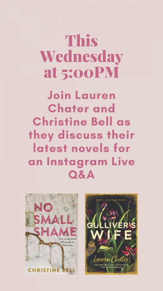 Instagram Live Q&A Christine Bell and Lauren Chater
