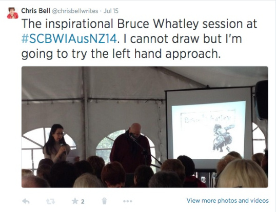 Bruce Whatley session Twitter